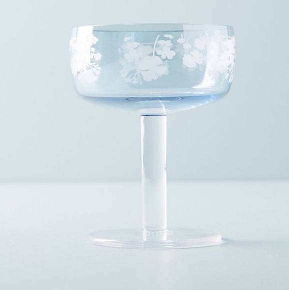 Anthropologie Other - NWOT Portia Coupe Glass